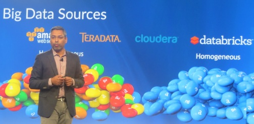 Alteryx President and COO Georg Mathew highlights coming in-database connections at Inspire15.