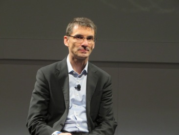 SAP's Berndt Leukert discusses new uses of Hadoop and Spark at Sapphire.