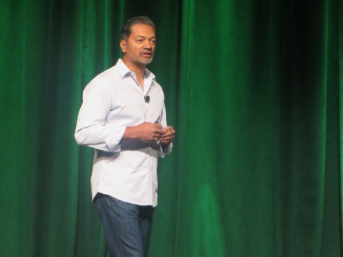 Dev Ittycheria, MongoDB's president & CEO, promises faster innovation and a stronger company at MongoDB World 2015.