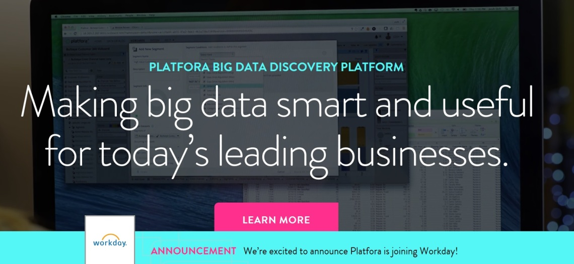 Platfora Joins Workday