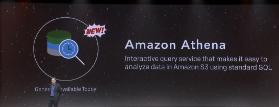 #Reinvent, @AWS, #Analytics