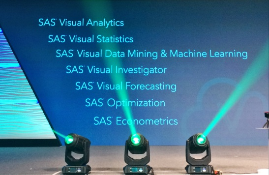 @SAS, #SASGF #Analytics