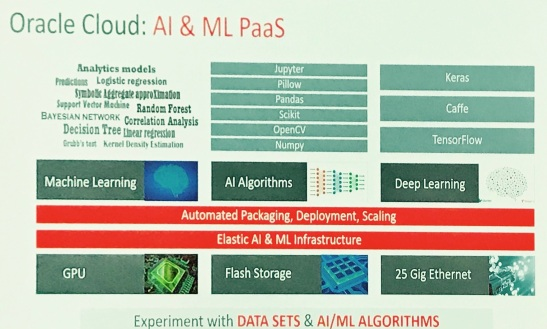 Oracle AI & ML PaaS