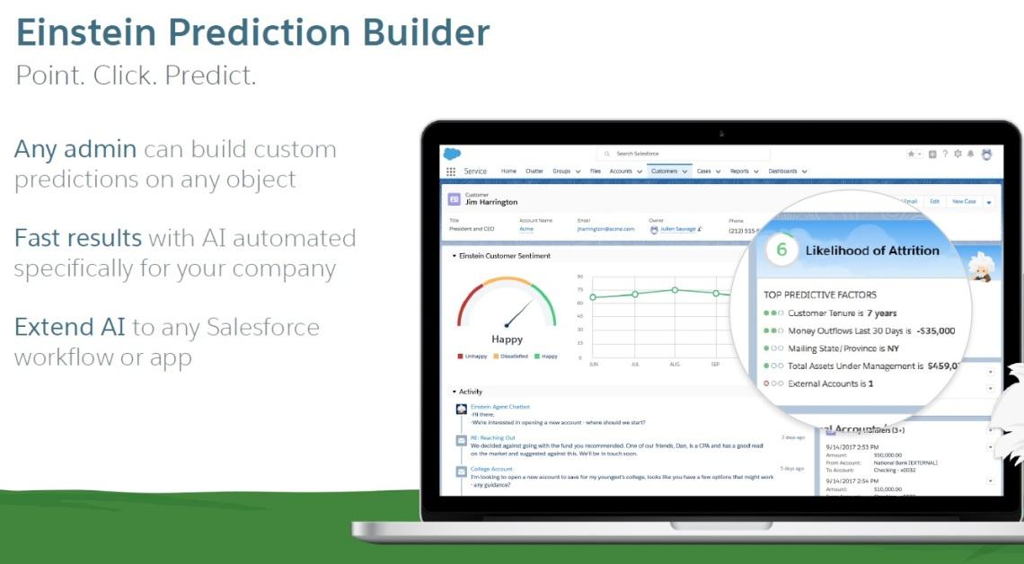 @Salesforce, #AI, #Analytics, #DF17