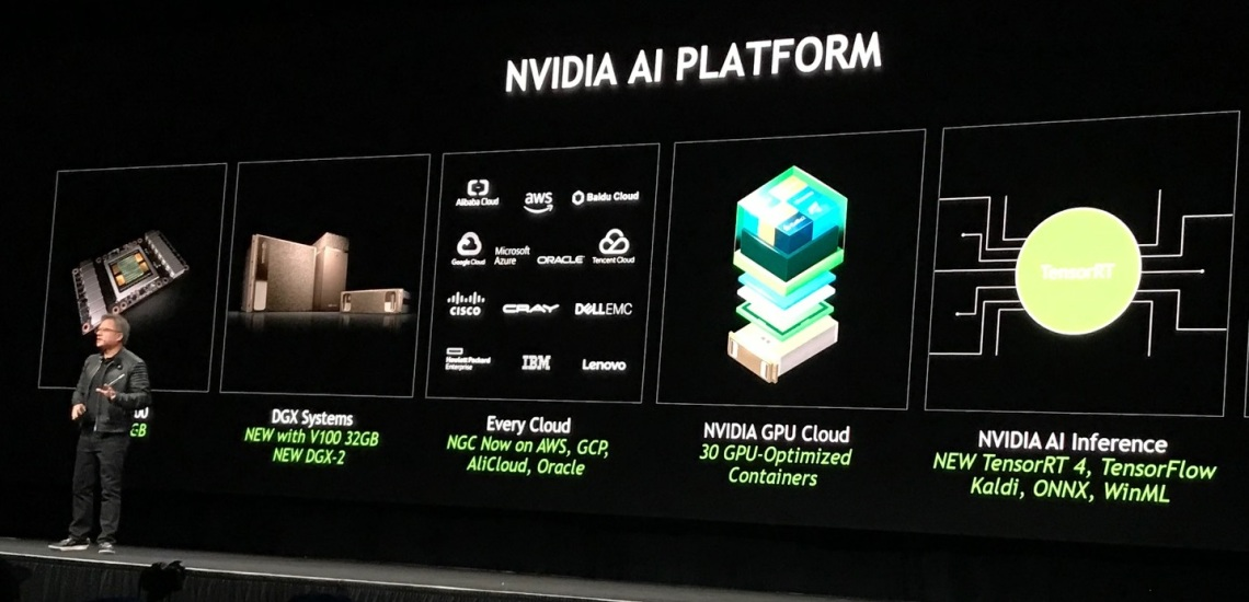 Nvidia Accelerates Artificial Intelligence, Analytics with