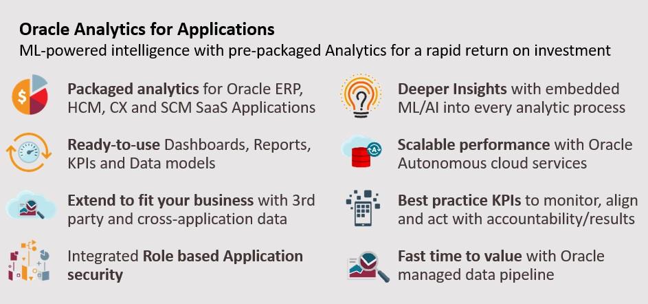 @Oracle, #analytics